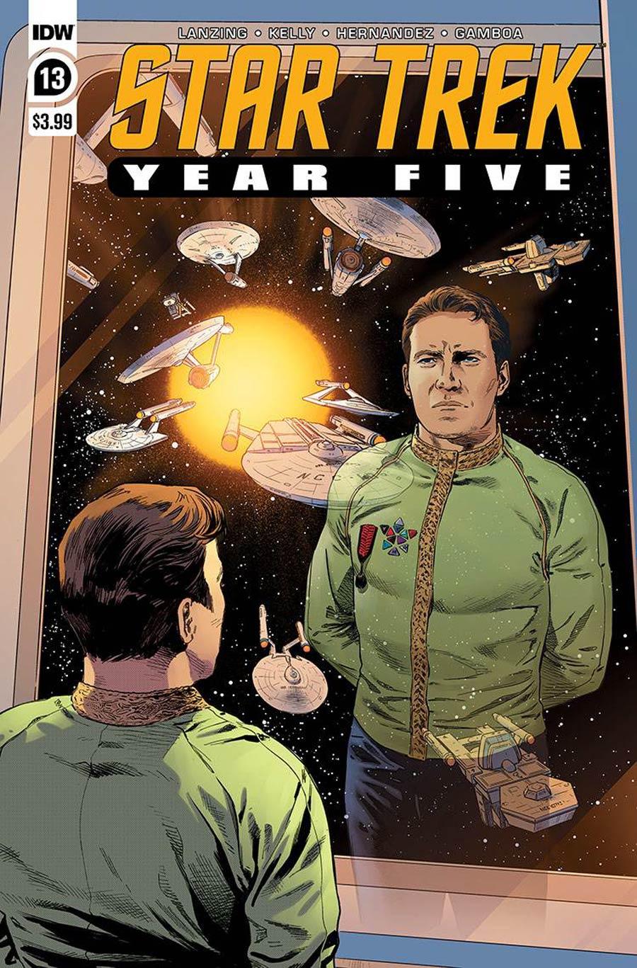 Star Trek Year Five #13 Cover A Regular Stephen Thompson Cover