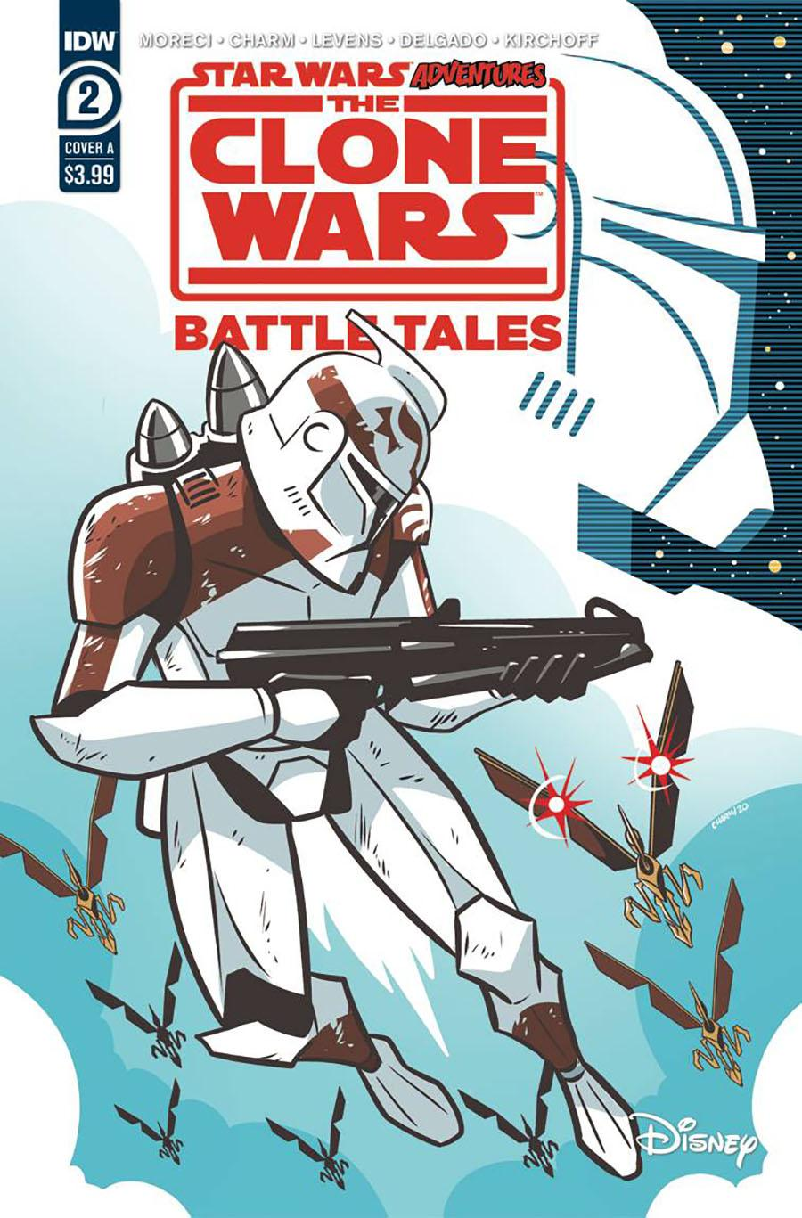 Star Wars Adventures Clone Wars Battle Tales #2 Cover A Regular Derek Charm Cover