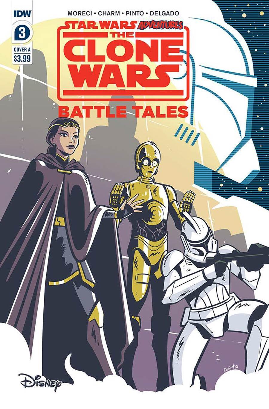 Star Wars Adventures Clone Wars Battle Tales #3 Cover A Regular Derek Charm Cover