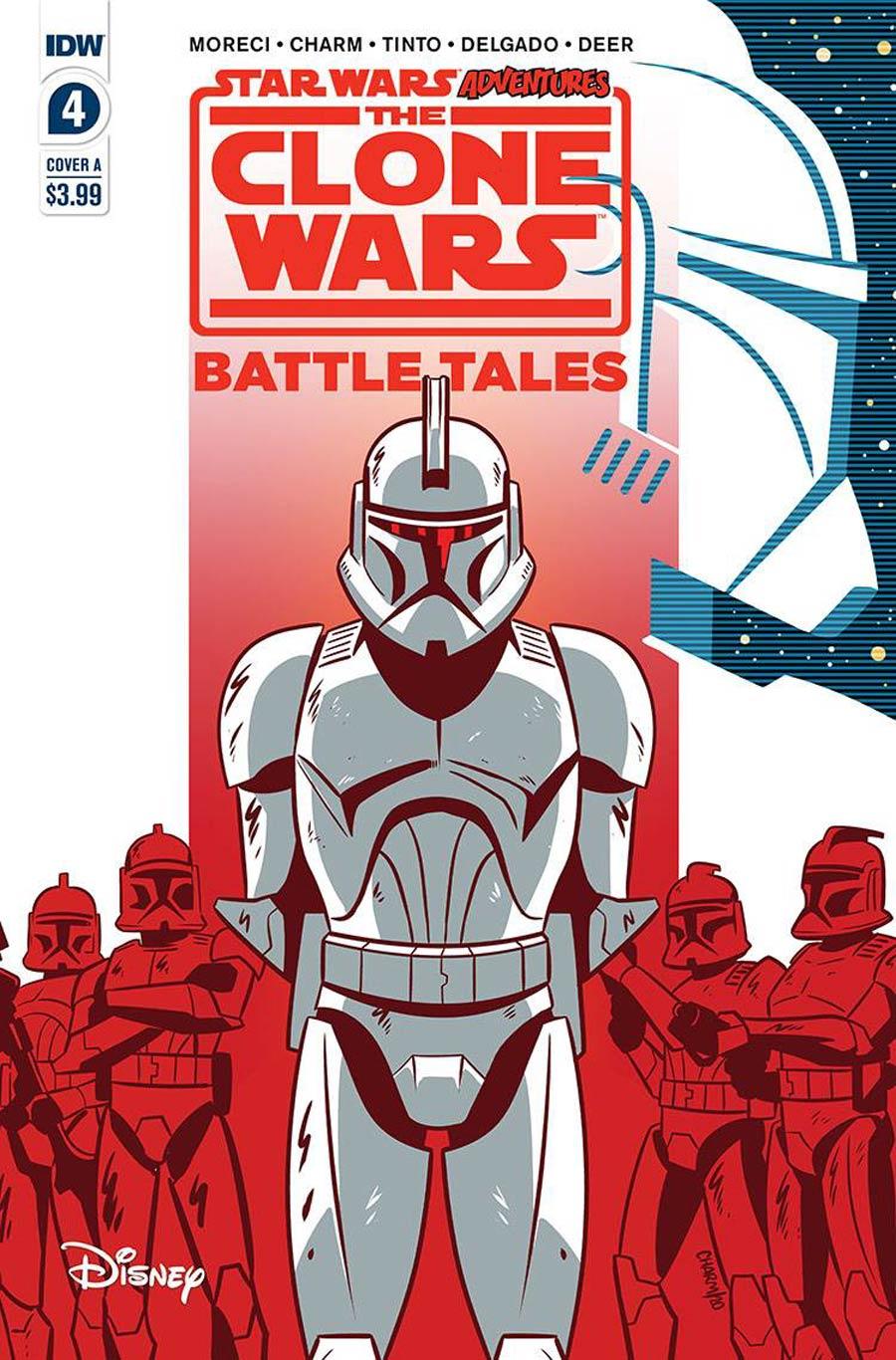 Star Wars Adventures Clone Wars Battle Tales #4 Cover A Regular Derek Charm Cover