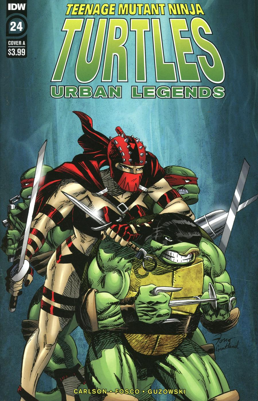 Teenage Mutant Ninja Turtles Urban Legends #24 Cover A Regular Frank Fosco Cover