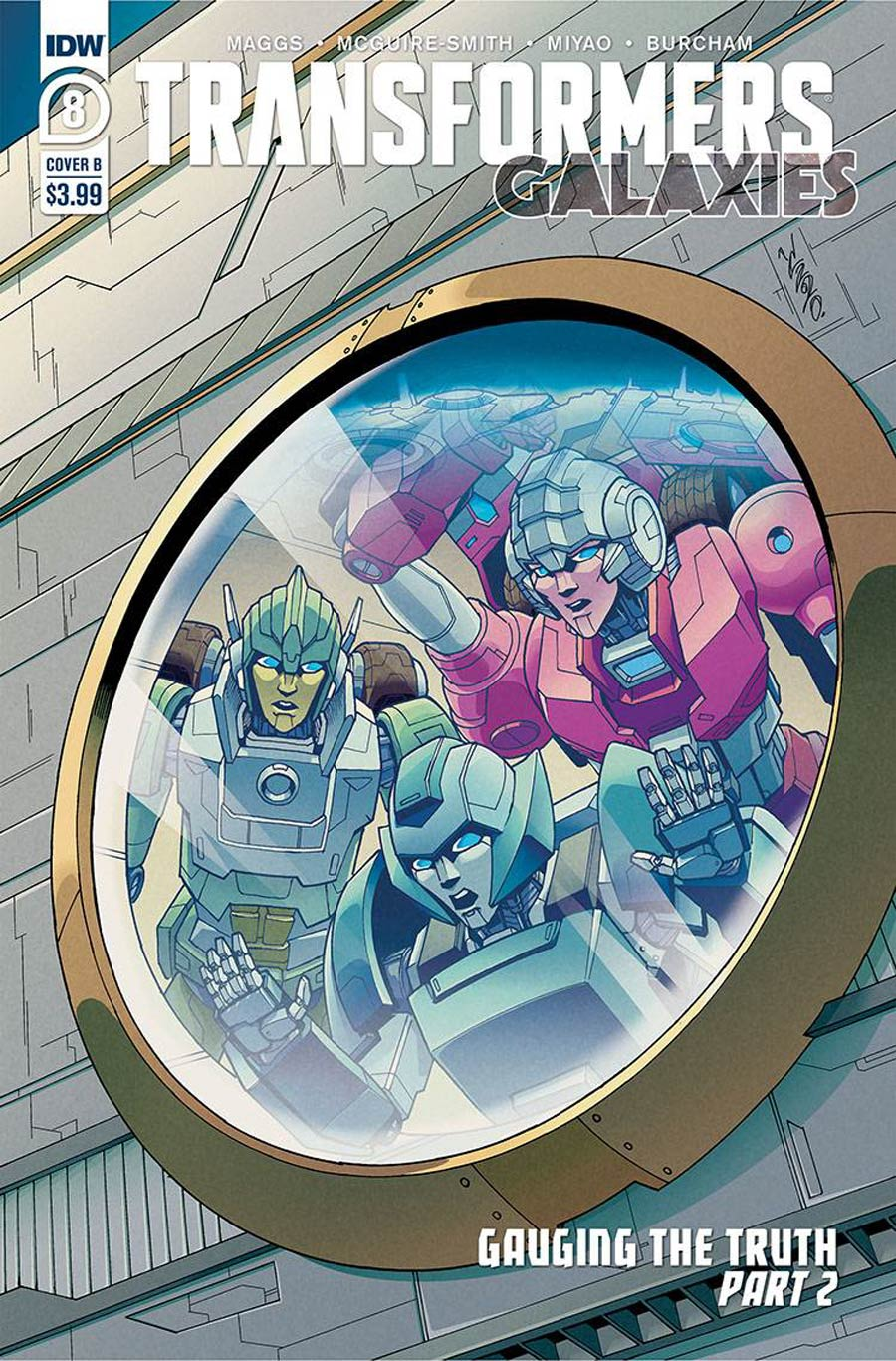 Transformers Galaxies #8 Cover B Variant Winstone Chan Cover