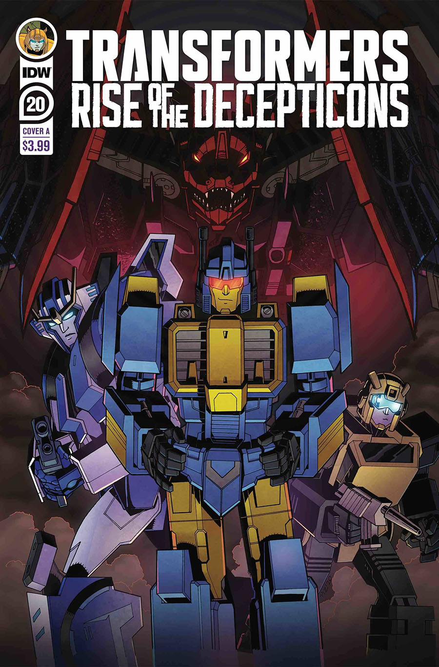 Transformers Vol 4 #20 Cover A Regular Ed Pirrie Cover