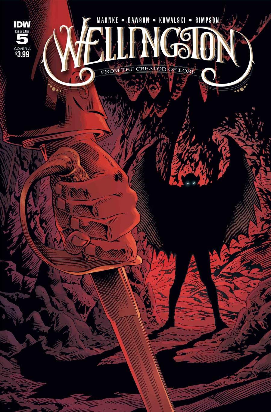 Wellington #5 Cover A Regular Piotr Kowalski Cover