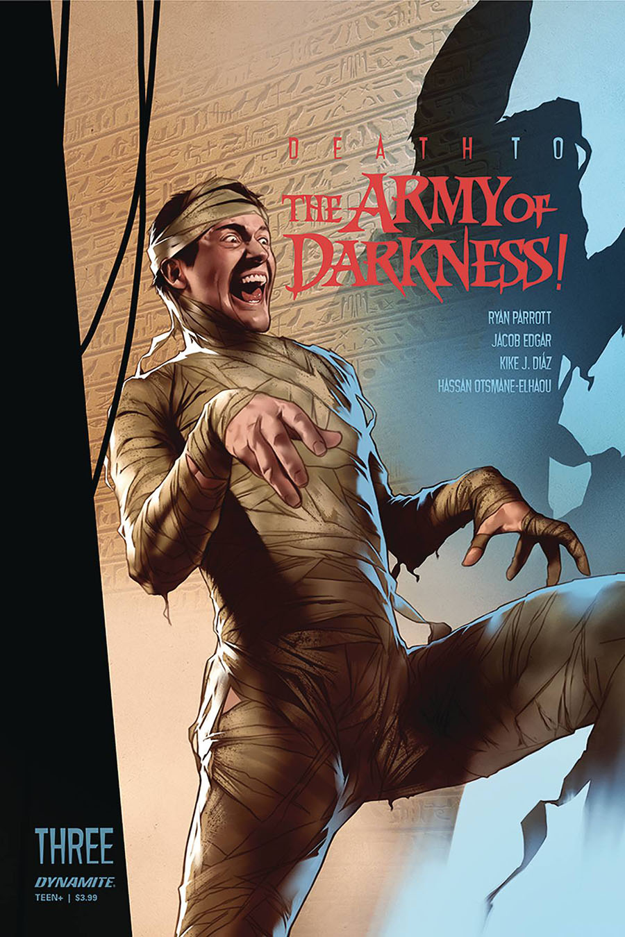Death To The Army Of Darkness #3 Cover A Regular Ben Oliver Cover