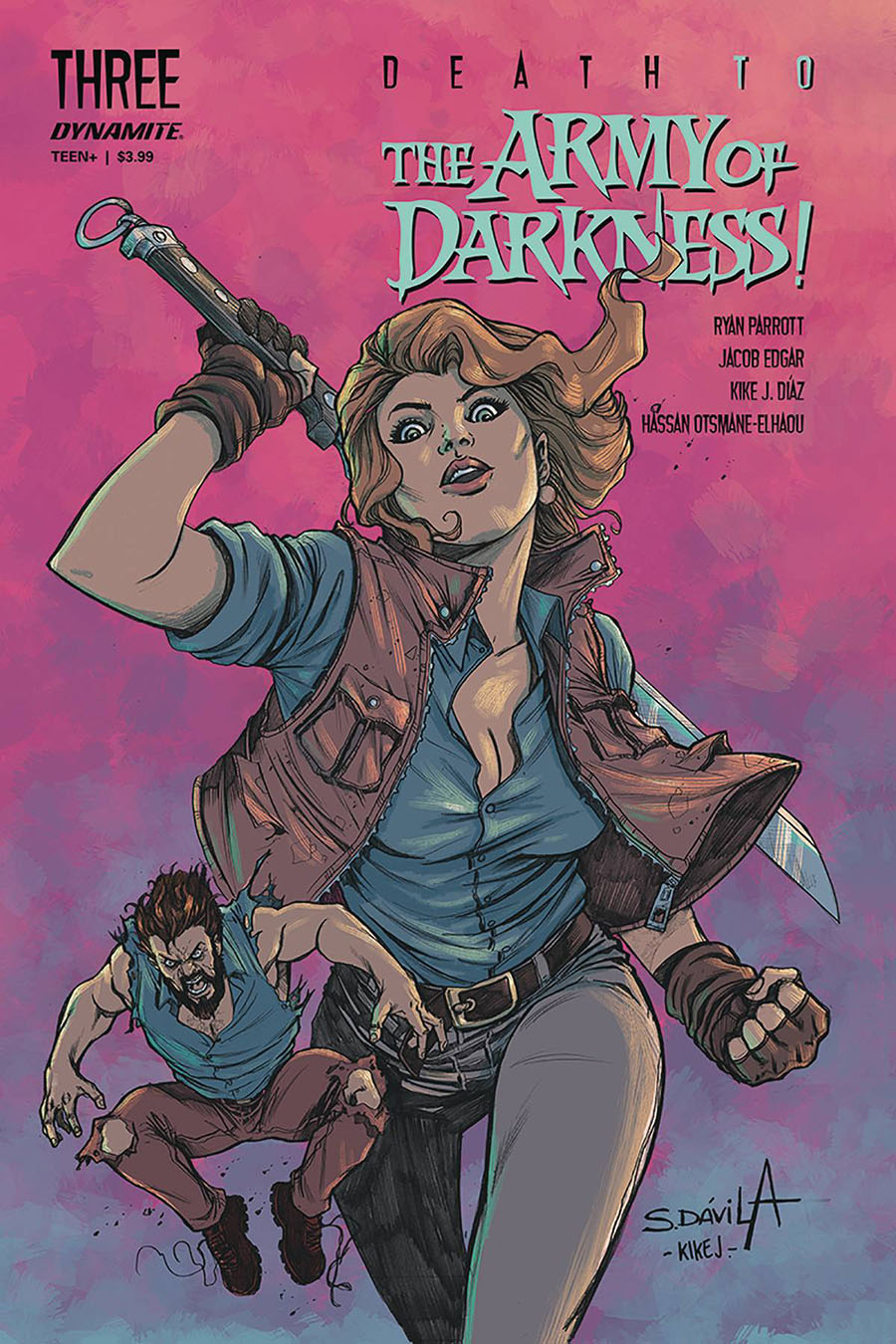 Death To The Army Of Darkness #3 Cover B Variant Sergio Davila Cover