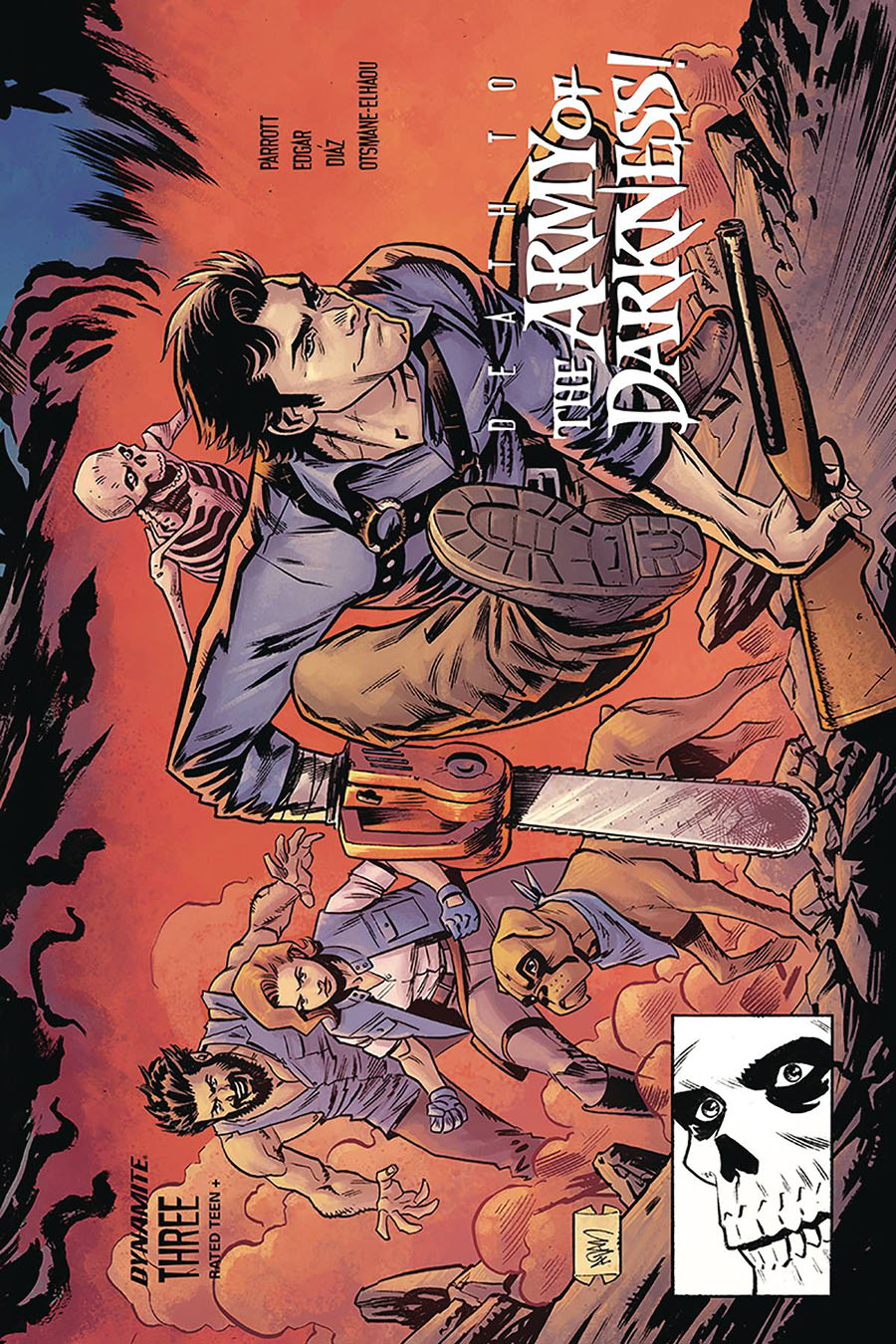 Death To The Army Of Darkness #3 Cover D Variant Adam Gorham Todd McFarlane Homage Cover