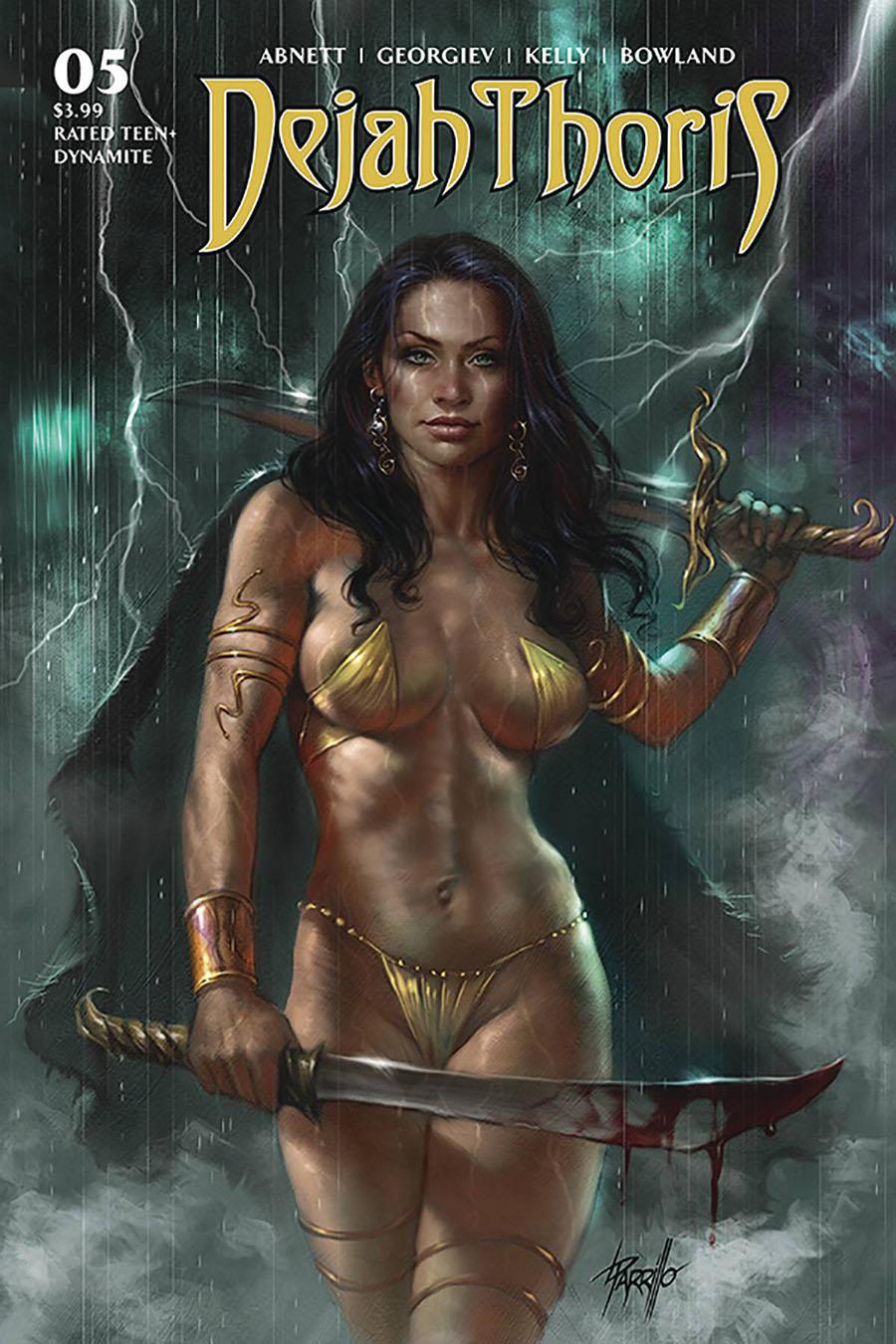 Dejah Thoris Vol 3 #5 Cover A Regular Lucio Parrillo Cover
