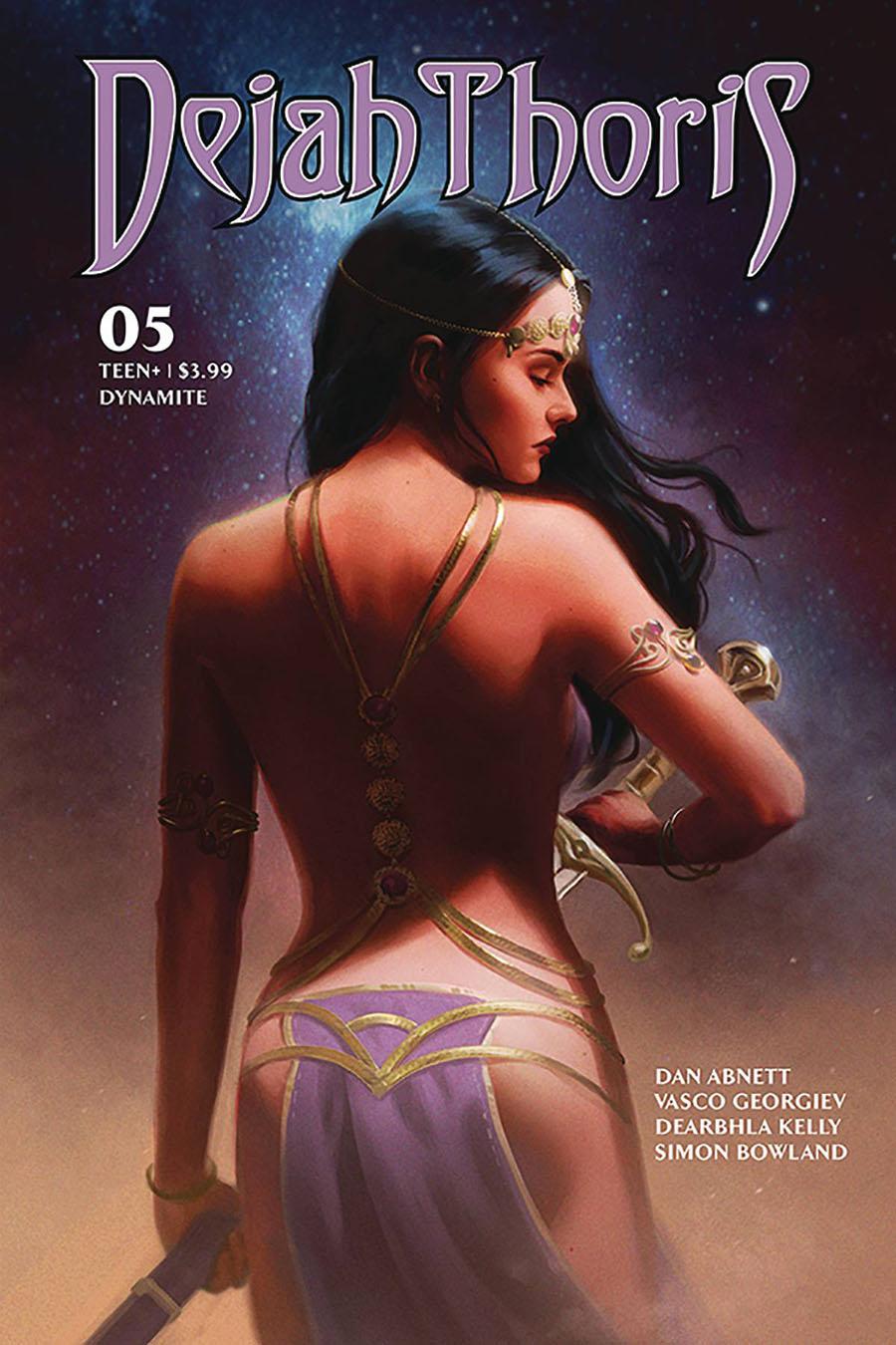 Dejah Thoris Vol 3 #5 Cover B Variant Luisa J Preissler Cover