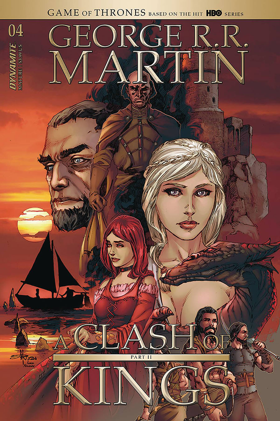 Game Of Thrones Clash Of Kings Vol 2 #4 Cover B Variant Mel Rubi Cover