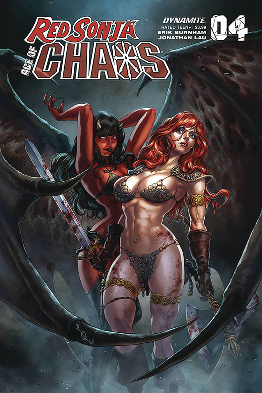 Red Sonja Age Of Chaos #4 Cover B Variant Alan Quah Cover