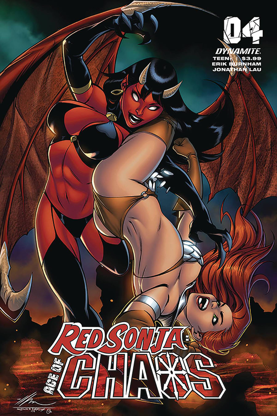 Red Sonja Age Of Chaos #4 Cover C Variant Ale Garza Cover