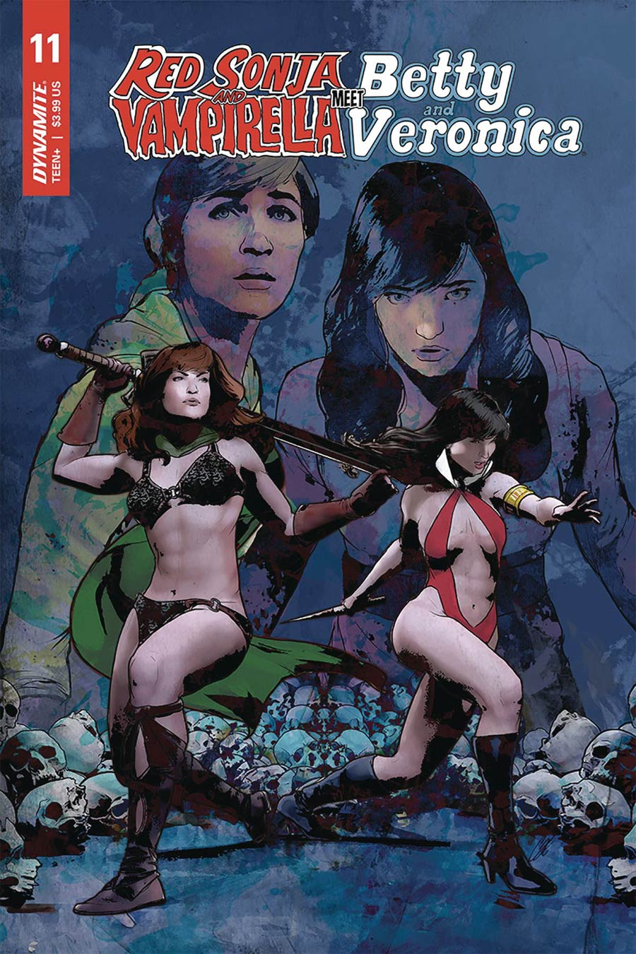 Red Sonja And Vampirella Meet Betty And Veronica #11 Cover E Variant Cat Staggs Cover