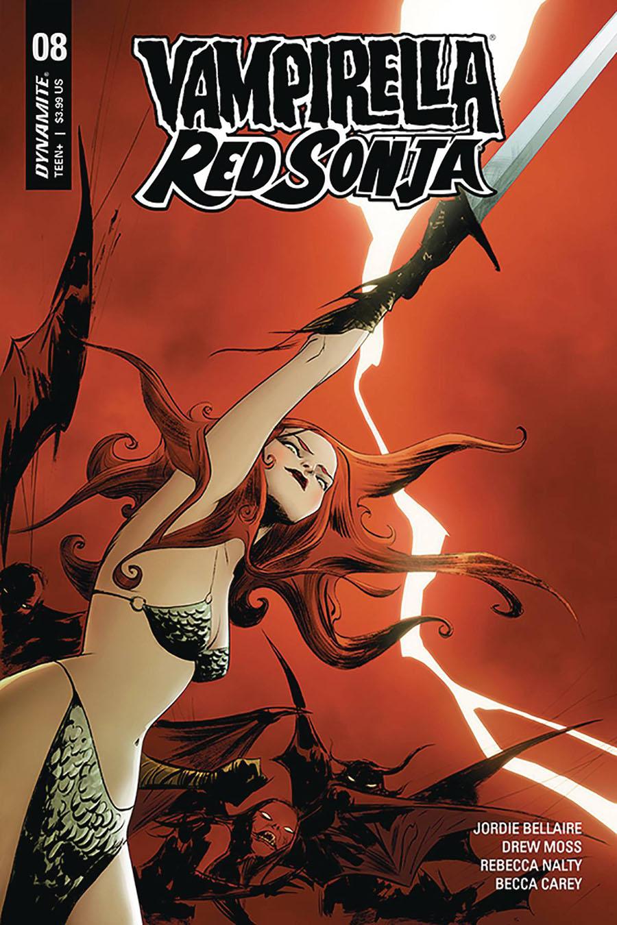 Vampirella Red Sonja #8 Cover A Regular Jae Lee Cover