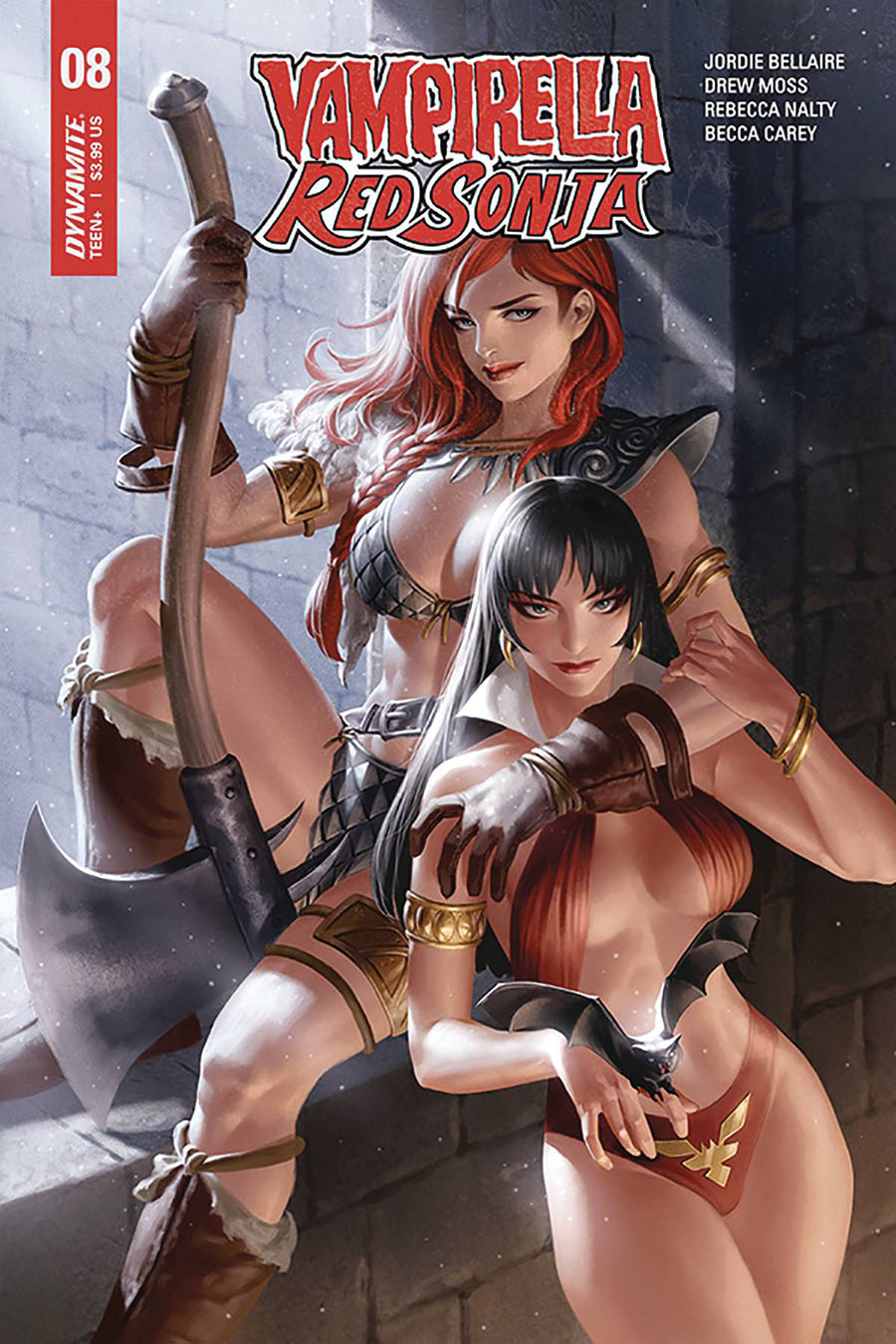 Vampirella Red Sonja #8 Cover B Variant Junggeun Yoon Cover
