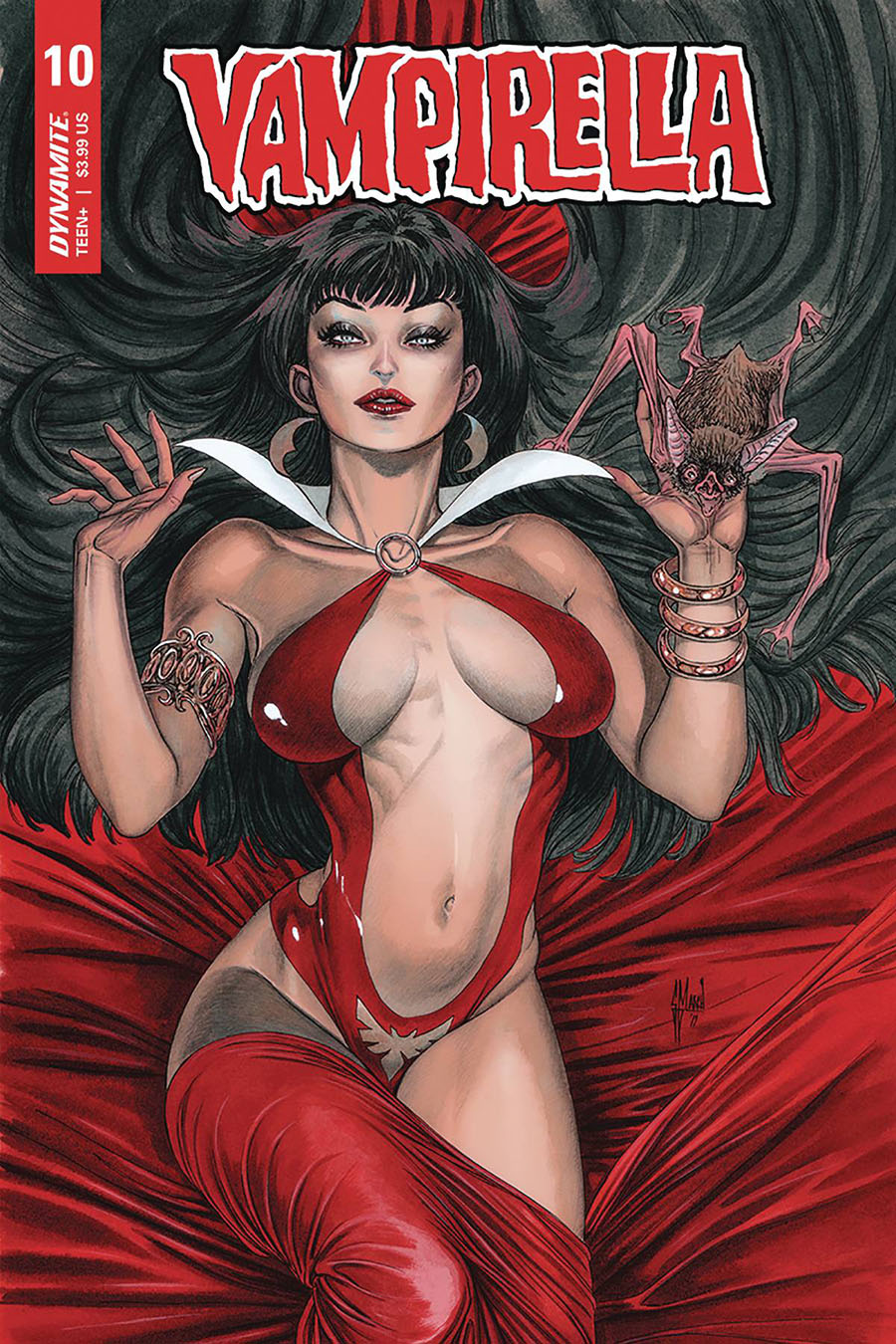 Vampirella Vol 8 #10 Cover B Variant Guillem March Cover