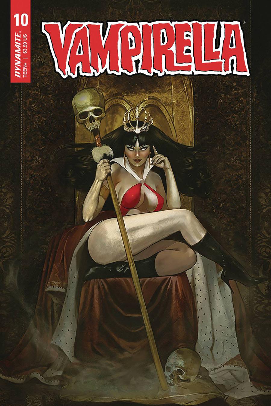 Vampirella Vol 8 #10 Cover C Variant Fay Dalton Cover