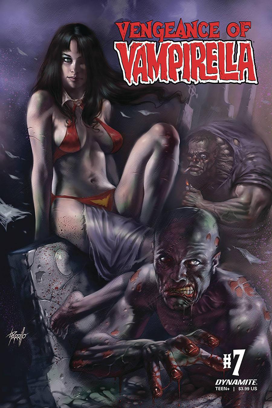 Vengeance Of Vampirella Vol 2 #7 Cover A Regular Lucio Parrillo Cover
