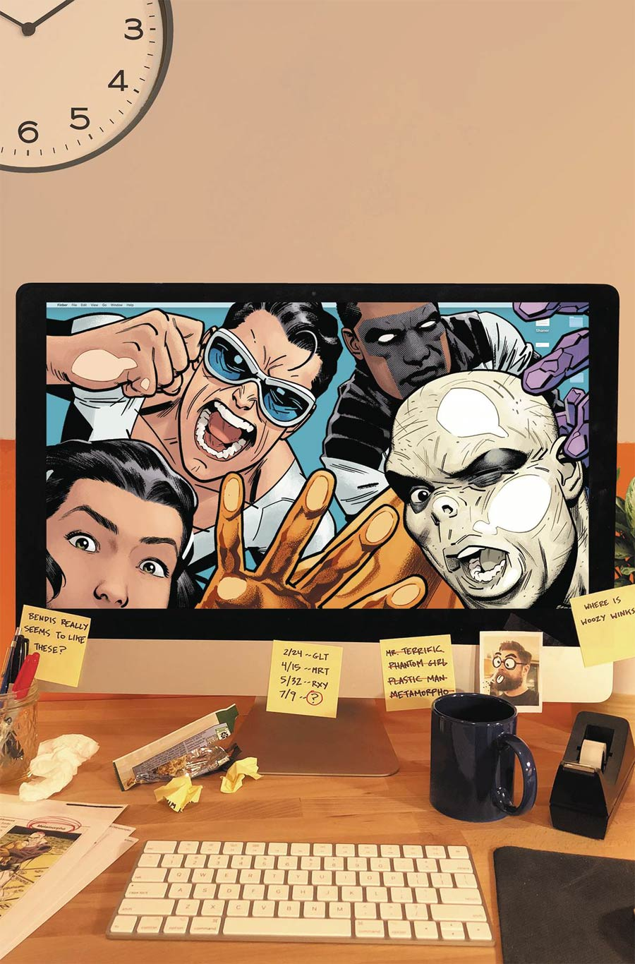 Terrifics Vol 3 The God Game TP