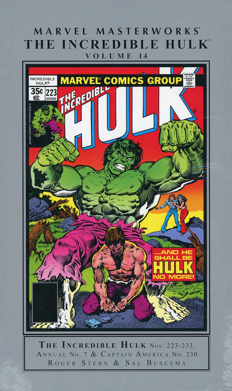 Marvel Masterworks Incredible Hulk Vol 14 HC Regular Dust Jacket