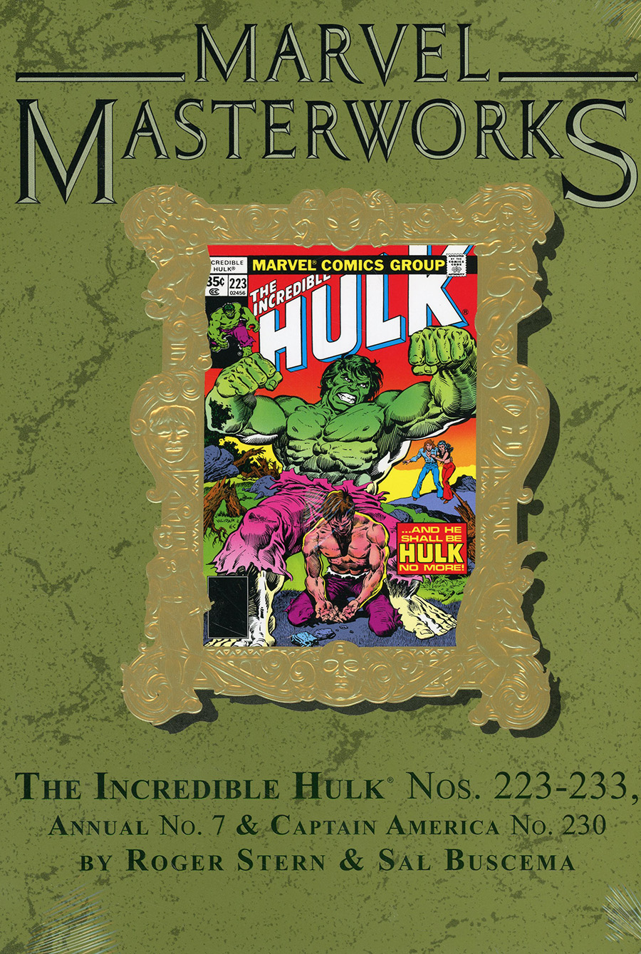 Marvel Masterworks Incredible Hulk Vol 14 HC Variant Dust Jacket