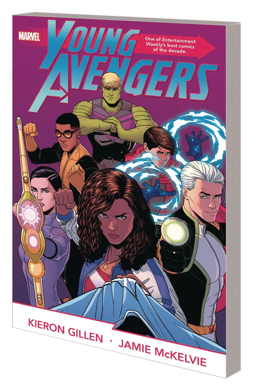 Young Avengers By Kieron Gillen & Jamie McKelvie Complete Collection TP