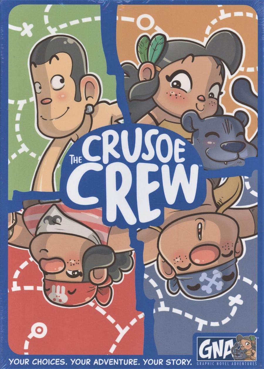 Crusoe Crew A Graphic Novel Adventures TP Slipcase Edition