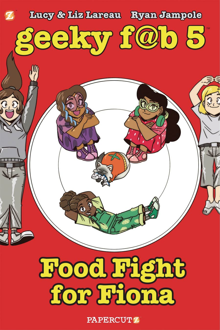 Geeky Fab Five Vol 4 Food Fight For Fiona TP