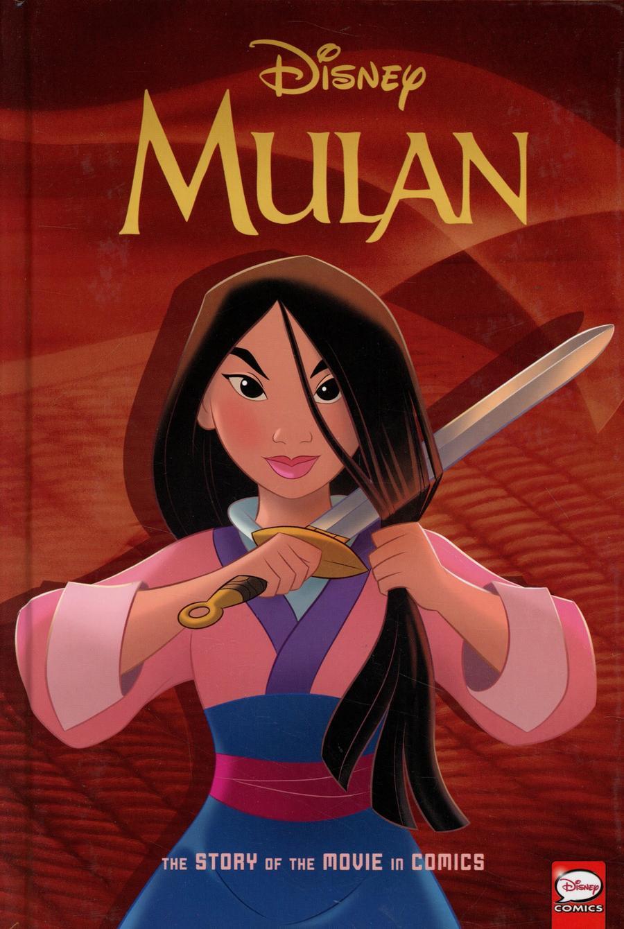 Disney Mulan Story Of The Movie In Comics HC