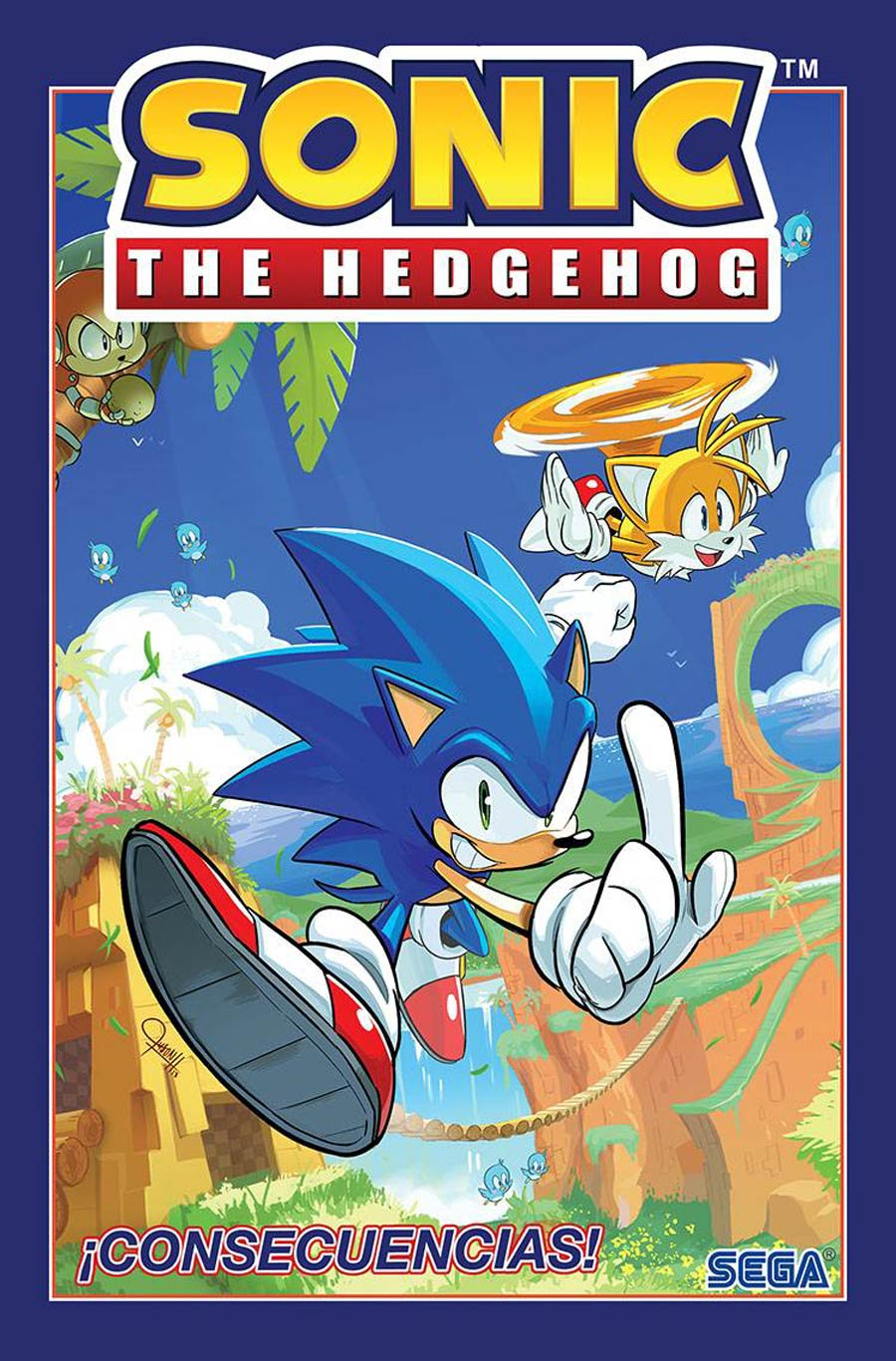 Sonic The Hedgehog (IDW) Vol 1 Consecuencias (Sonic The Hedgehog (IDW) Vol 1 Fallout Spanish Edition) TP