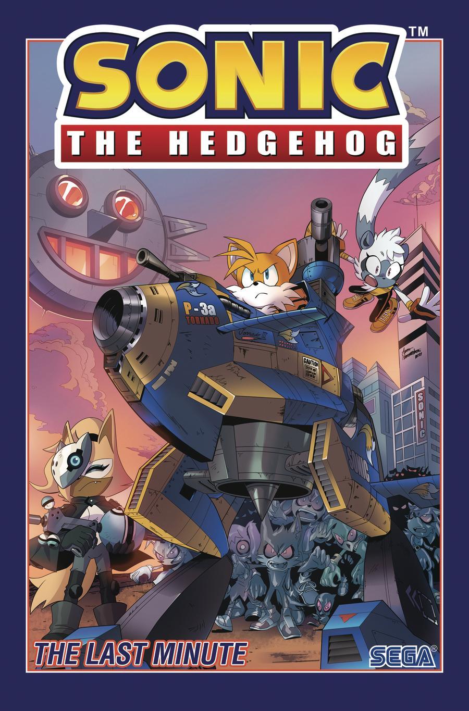 Sonic The Hedgehog (IDW) Vol 6 Last Minute TP