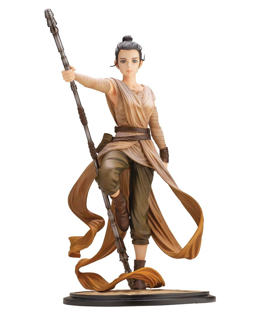 Star Wars Artist Series Descendant Of Light Rey ARTFX Plus Statue