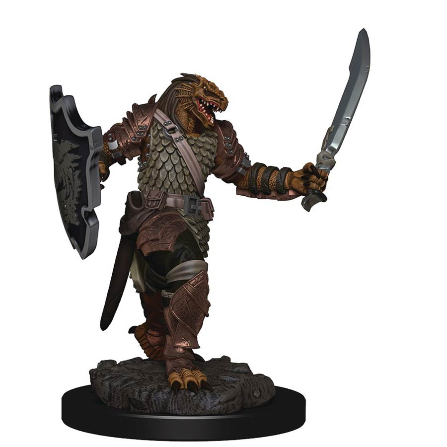 Dungeons & Dragons Icons Of The Realm Premium Figure - Dragonborn Female Paladin