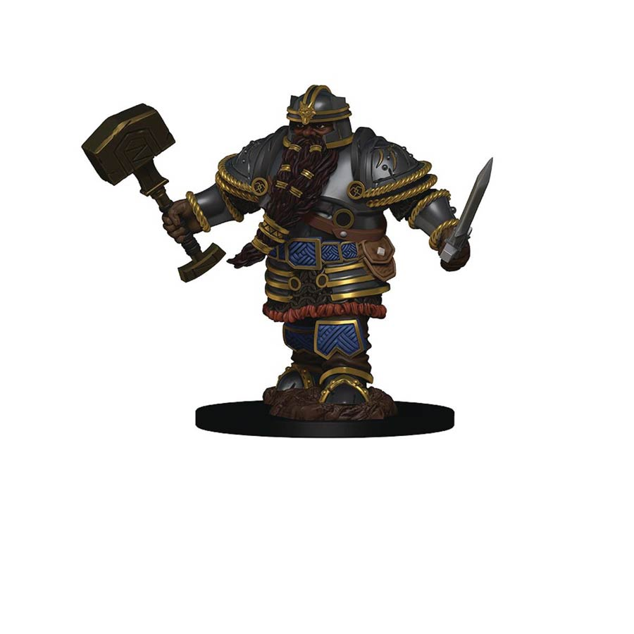 Dungeons & Dragons Icons Of The Realm Premium Figure - Dwarf Male Fighter