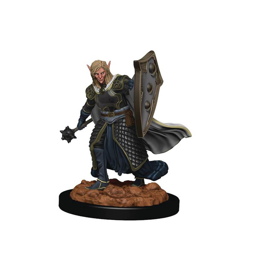 Dungeons & Dragons Icons Of The Realm Premium Figure - Elf Male Cleric