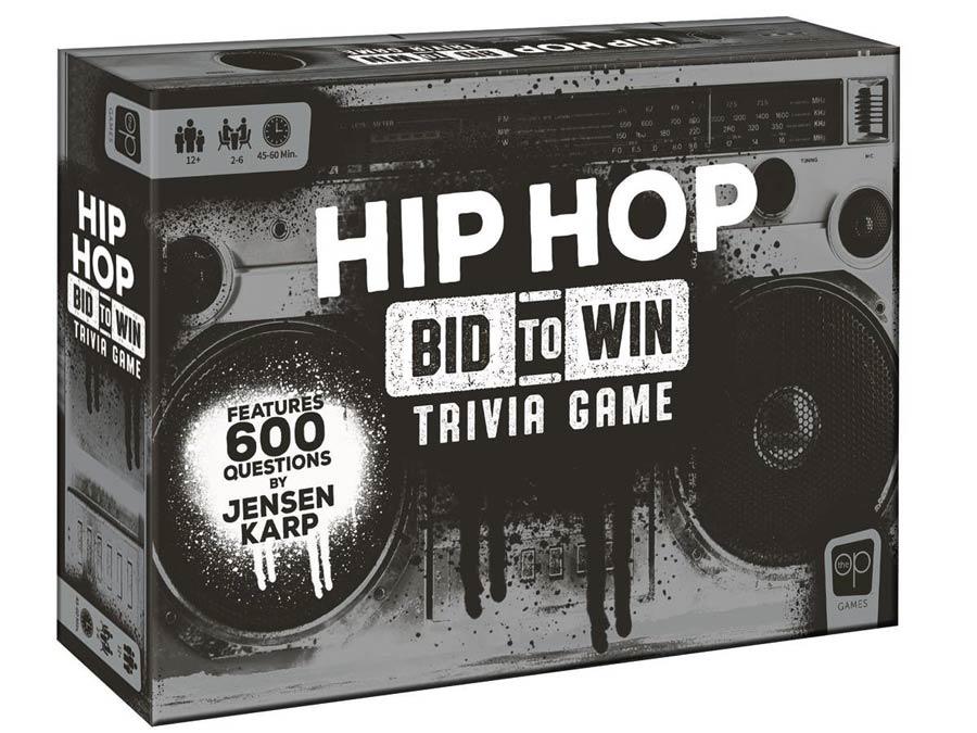 Hip-Hop Trivia Board Game