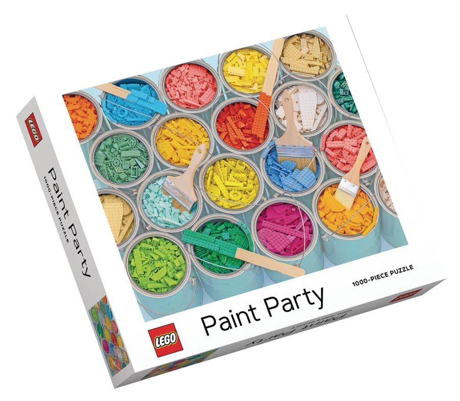 Lego Paint Party 1000-Piece Jigsaw Puzzle