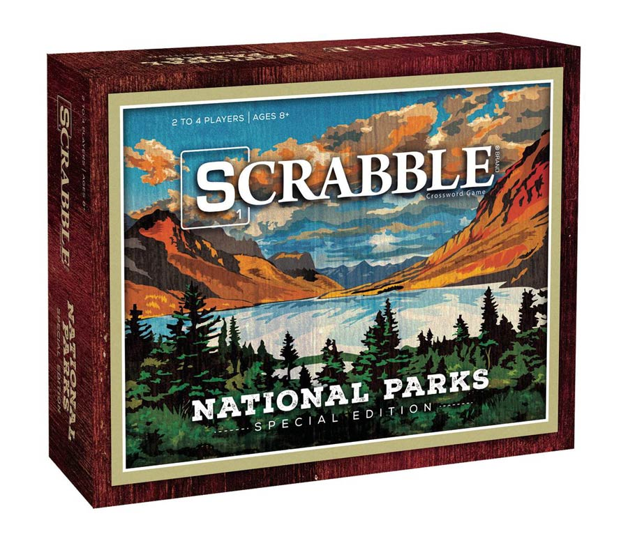 Scrabble National Parks Board Game