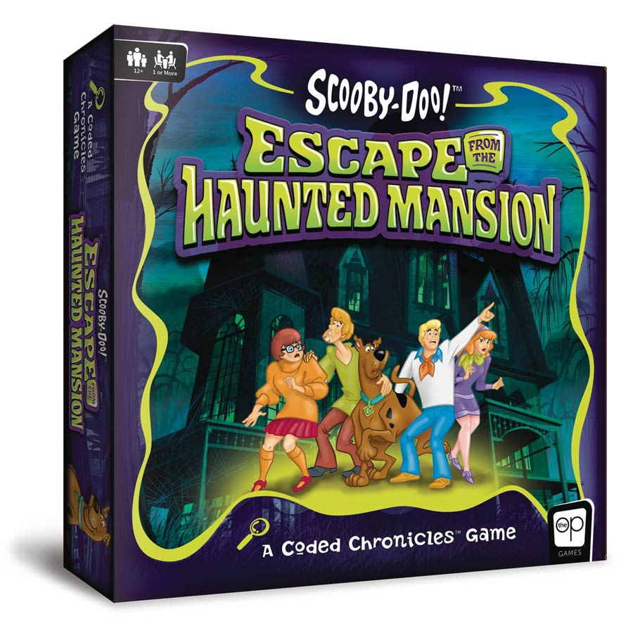 Scooby-Do Escape From The Haunted Mansion Coded Chronicles Game