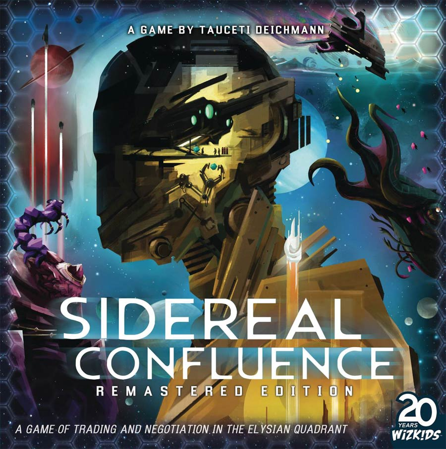 Sidereal Confluence Board Game (Remastered Edition)