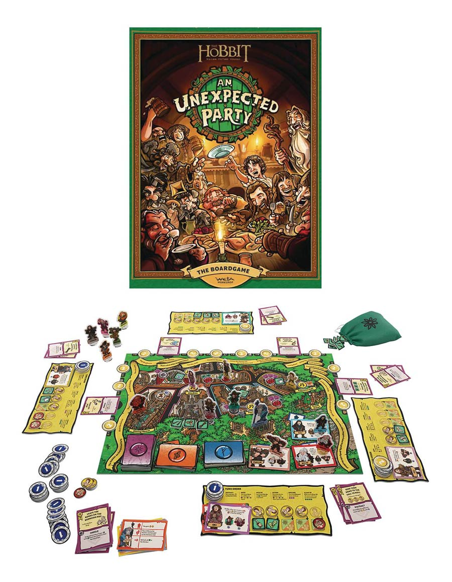 Hobbit An Unexpected Party Board Game