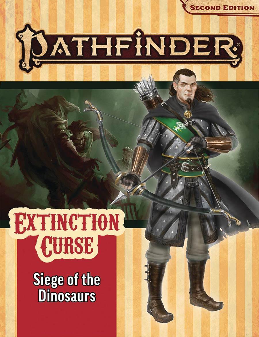 Pathfinder Adventure Path Extinction Curse Part 4 Siege Of The Dinosaurs TP (P2)