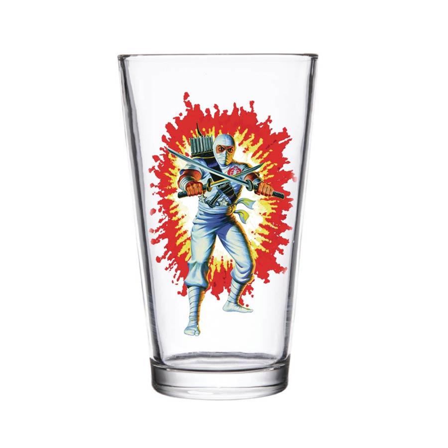 Super 7 GI Joe Pint Glass - Storm Shadow