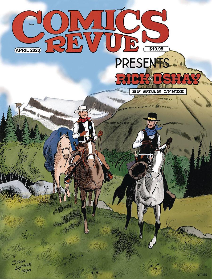 Comics Revue Presents April 2019