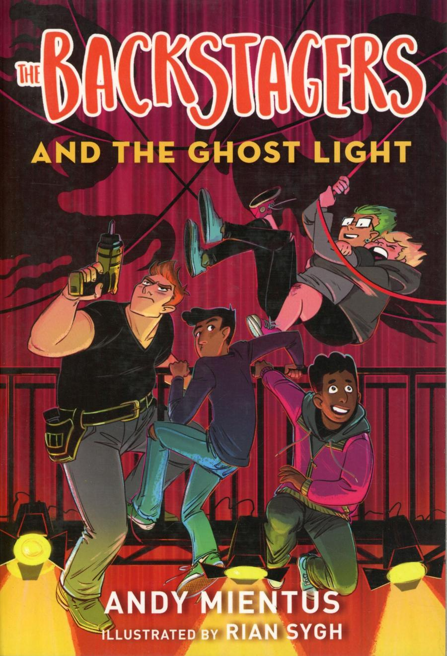 Backstagers Illustrated Novel Vol 1 Backstagers And The Ghost Light TP