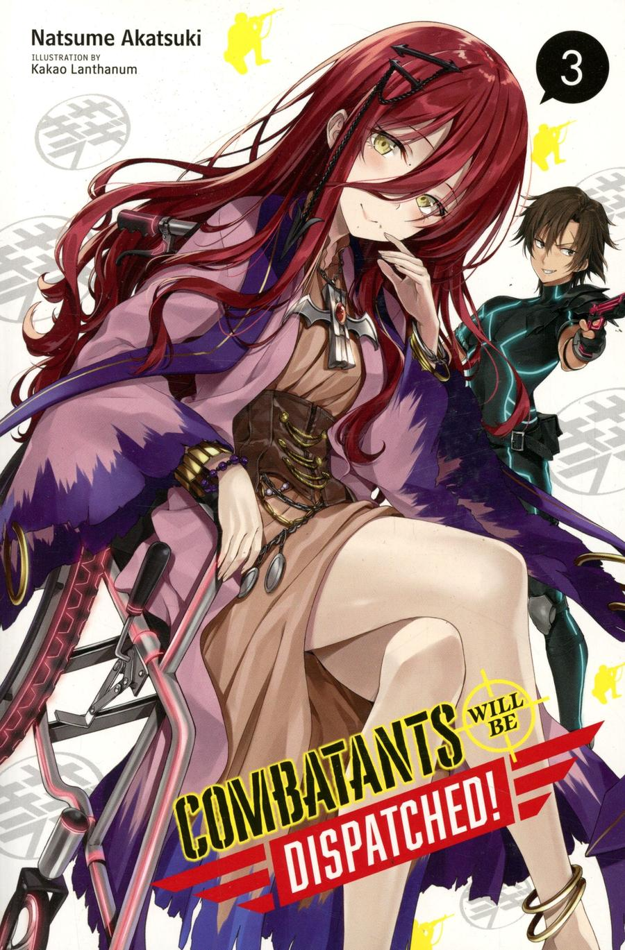 Combatants Will Be Dispatched Light Novel Vol 3