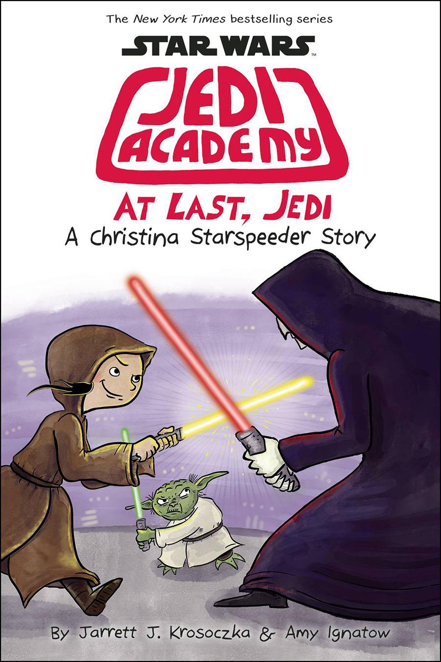 Star Wars Jedi Academy Vol 9 At Last Jedi HC