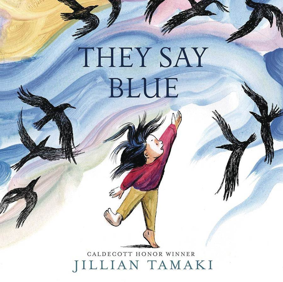 They Say Blue Board Book HC