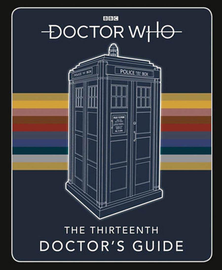 Doctor Who Thirteenth Doctors Guide Handbook HC