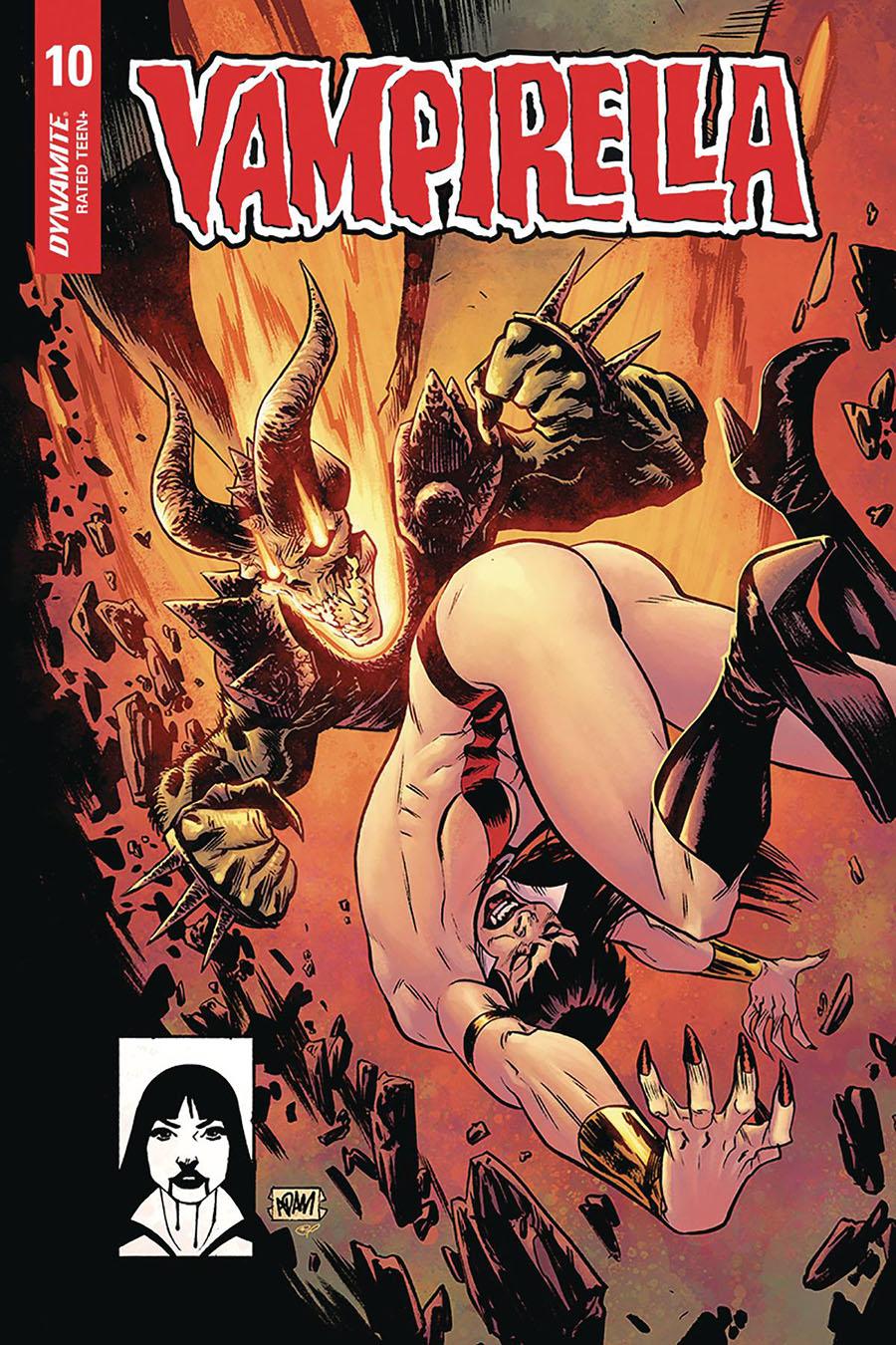 Vampirella Vol 8 #10 Cover H Incentive Adam Gorham Todd McFarlane Homage Variant Cover